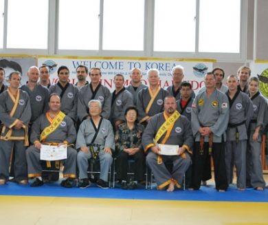 Семинар Доджуним Джи 25-30 июня 2010 года в Чонан, Корея