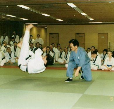 Семинар Джи Хан Дже в Пори, Финляндия. 07-09.03.2003