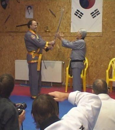 Семинар основателя современного хапкидо Доджуним Джи Хан Дже. 15-17 октября 2010