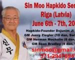 05-07 июня 2015 в Риге состоится семинар создателя ХАПКИДО – Доджунима Джи Хан Дже
