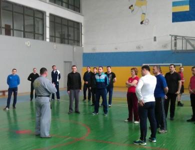 Учебно- тренировочный семинар по Син Му Хапкидо для сотрудников таможни.